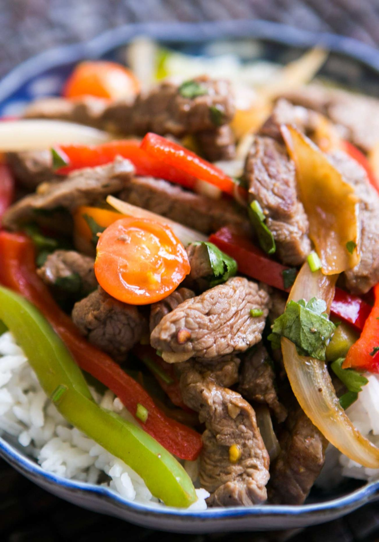 Quick Beef Stir-Fry with Bell Peppers - Recipes With Beef Strips