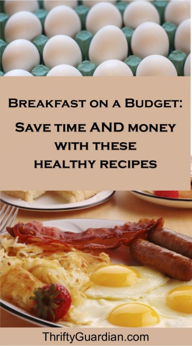 Quick Breakfast Ideas for Busy Moms | Breakfast on a budget, Easy ..