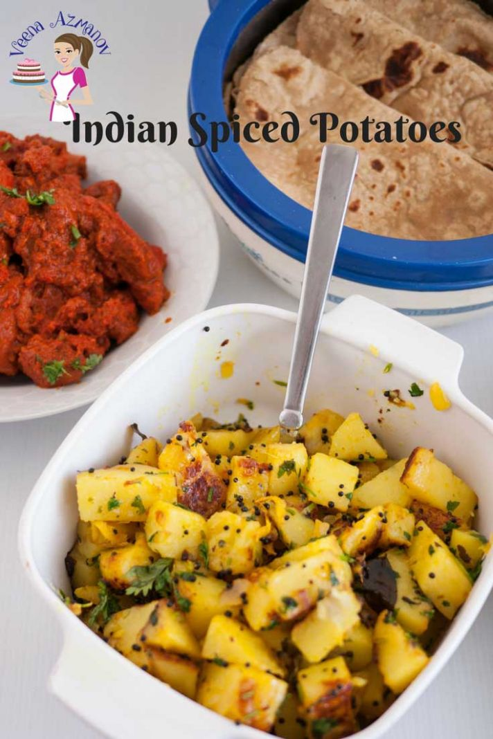 Quick Indian Spiced Potatoes in Just 12 minutes