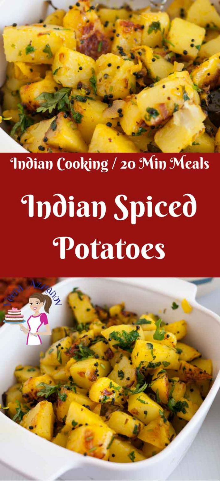 Quick Indian Spiced Potatoes in Just 8 minutes