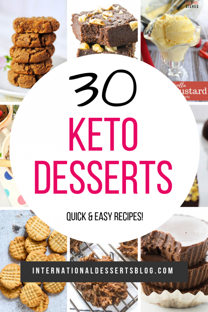 Quick Keto Dessert Recipes - International Desserts Blog - Recipes ...