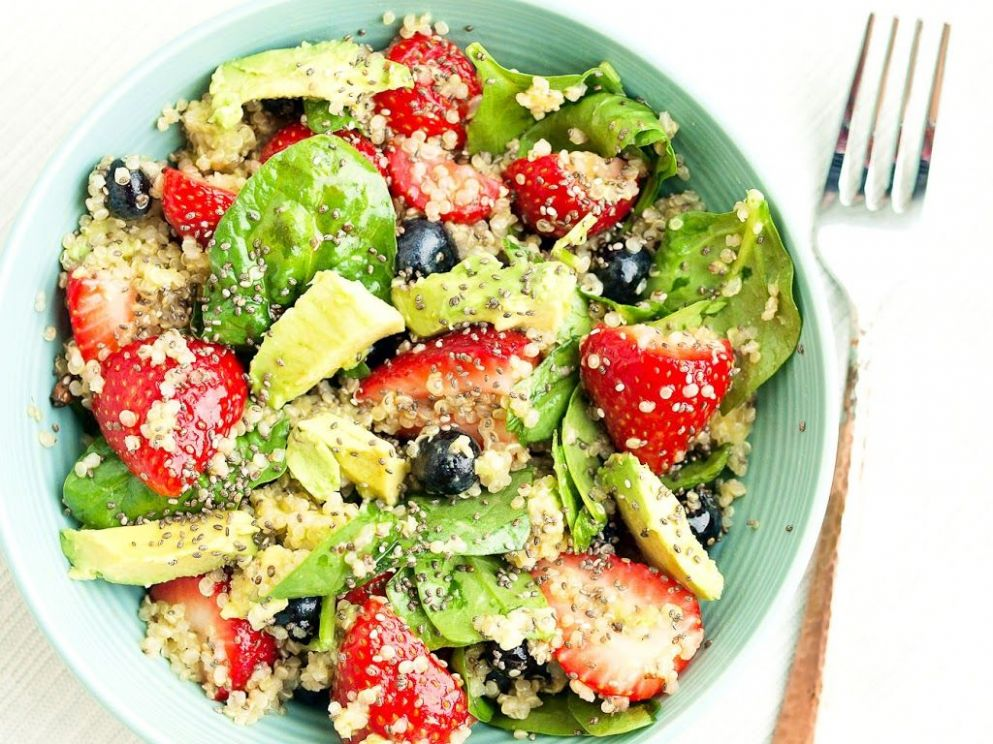 Quinoa Power Salad Recipe on Yummly. @yummly #recipe | Quinoa ...