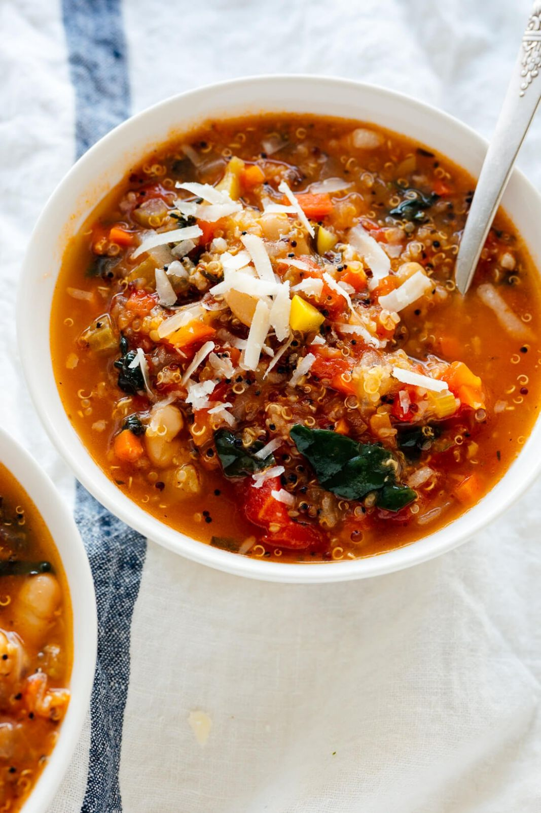 Quinoa Vegetable Soup Recipe - Cookie and Kate