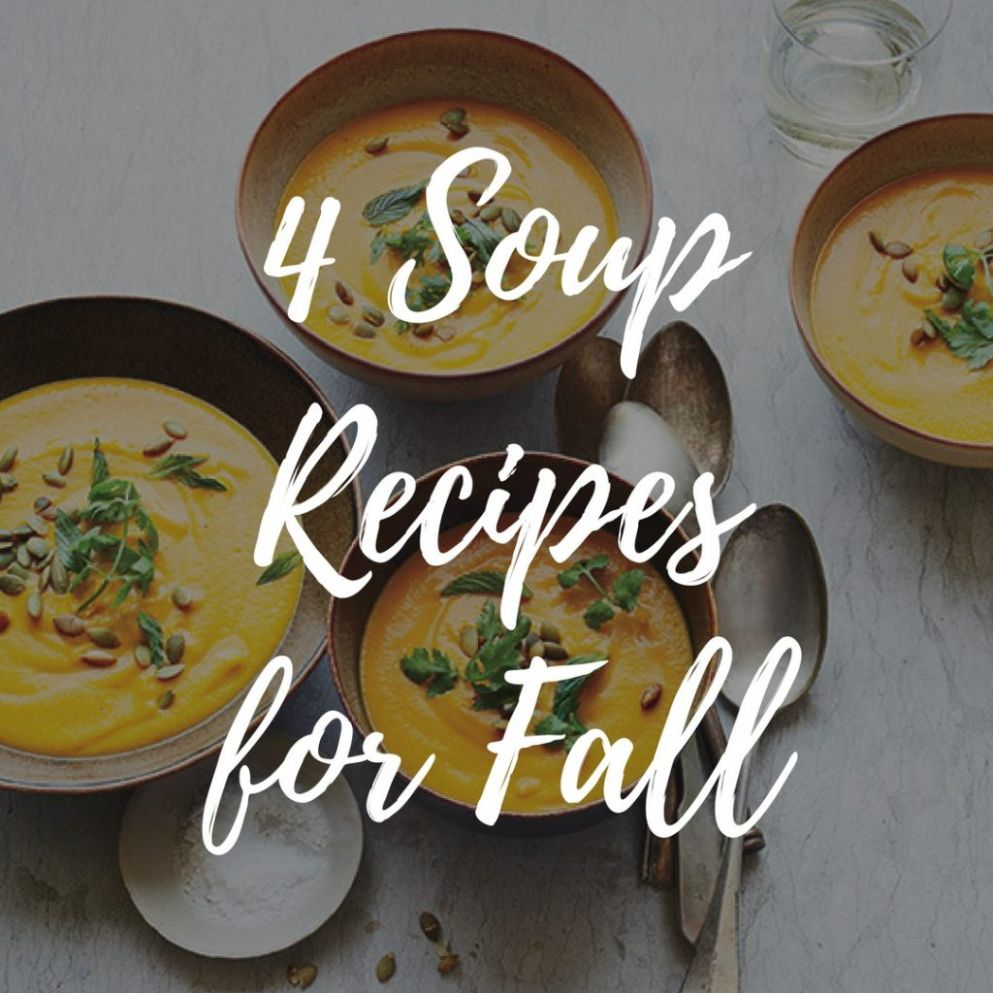 Quit the Fast Food and Check Out These Easy and Tasty Soup Recipes - Soup Recipes Good Food