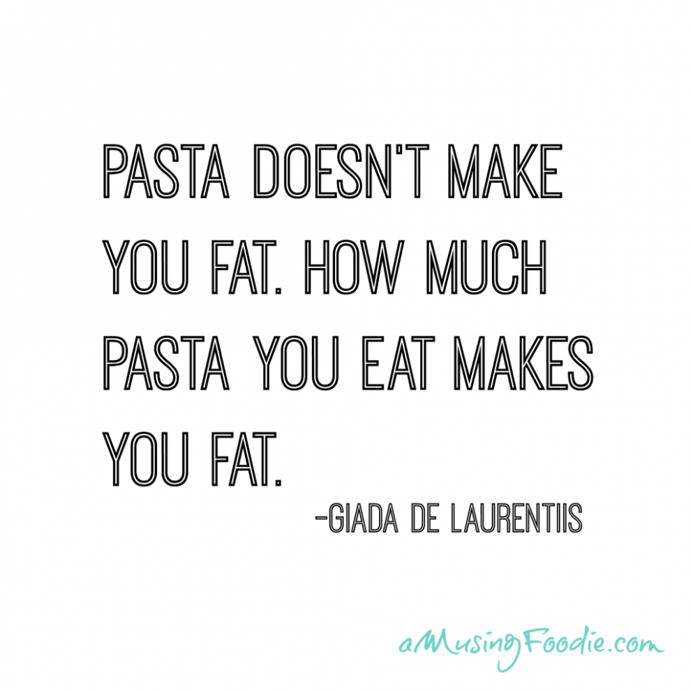 Quotes about Pasta (11 quotes)