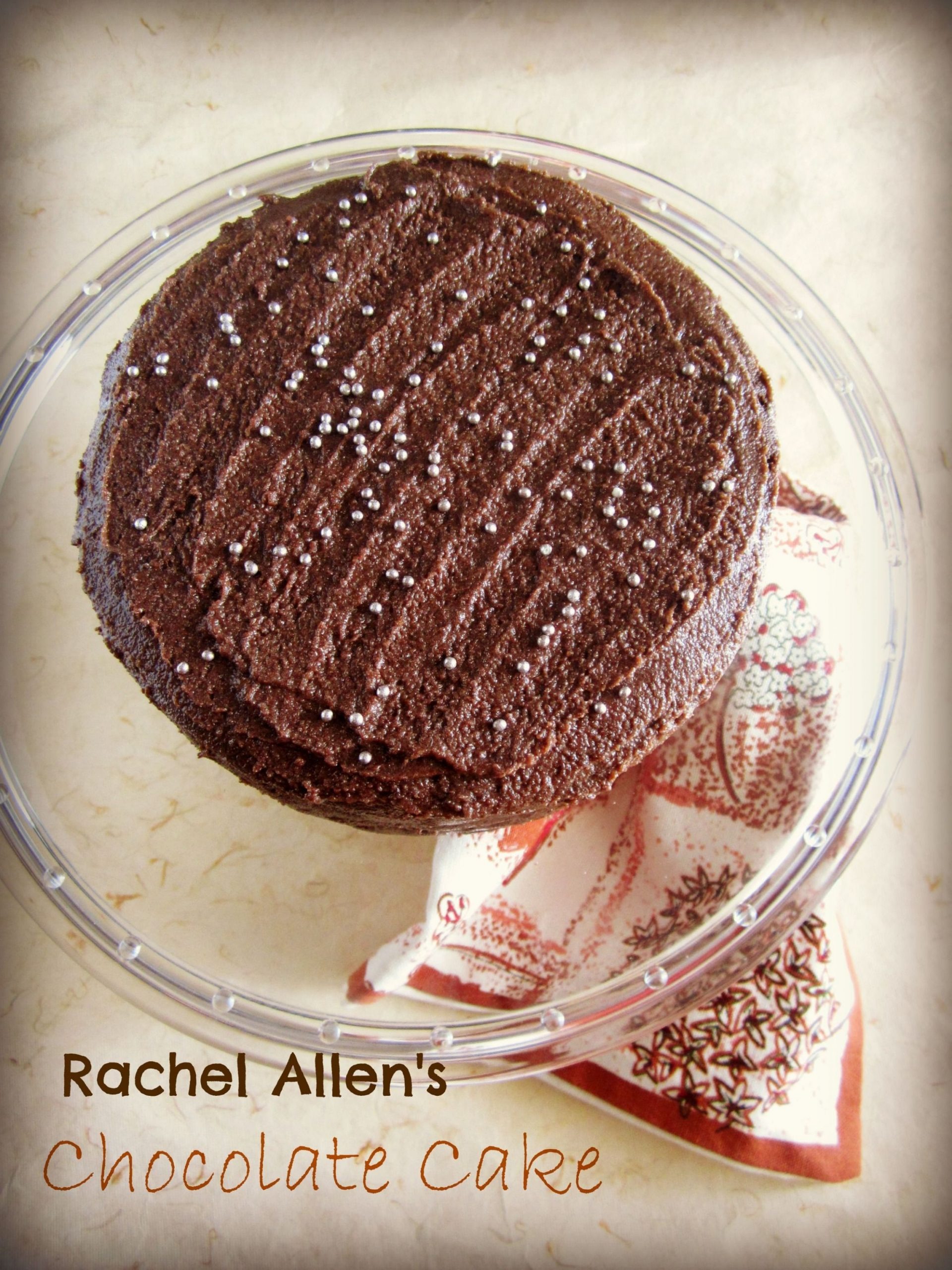 Rachel Allen's Chocolate Cake,a Product Review & Giveaway! | Yummy ...