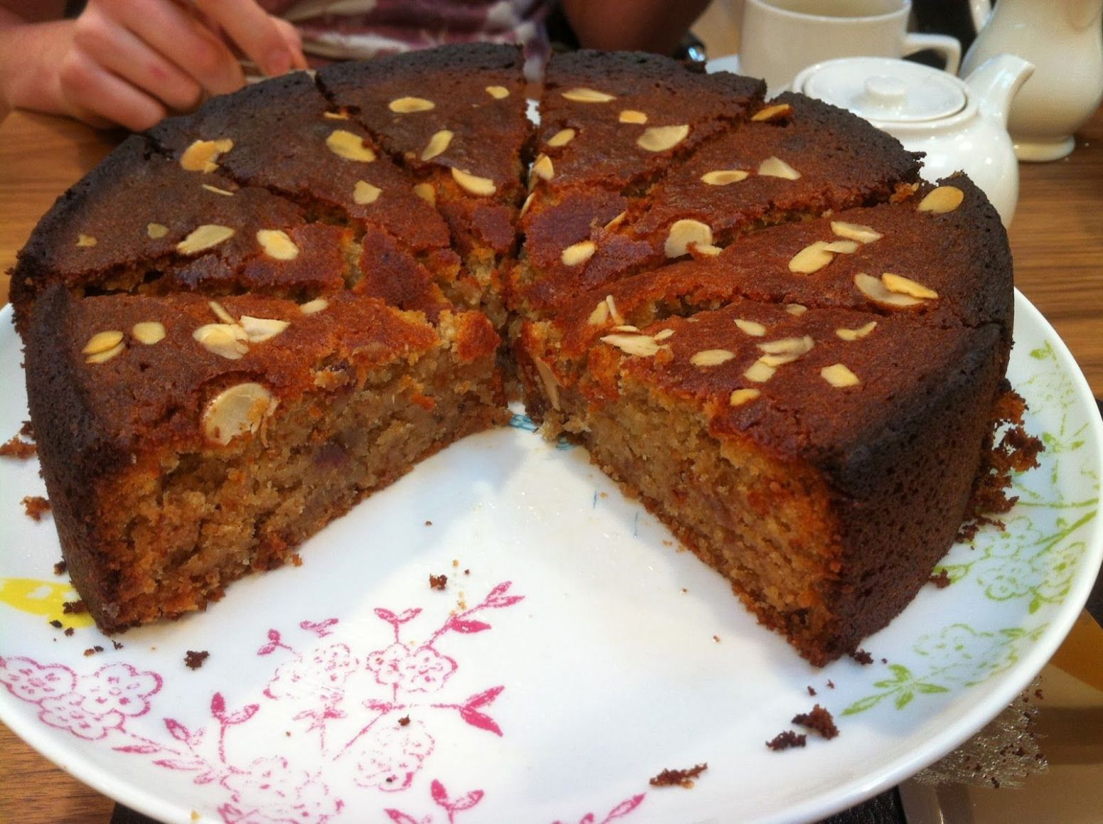 Rachel Allen's Date and Almond Honey Cake | Cake, Almond