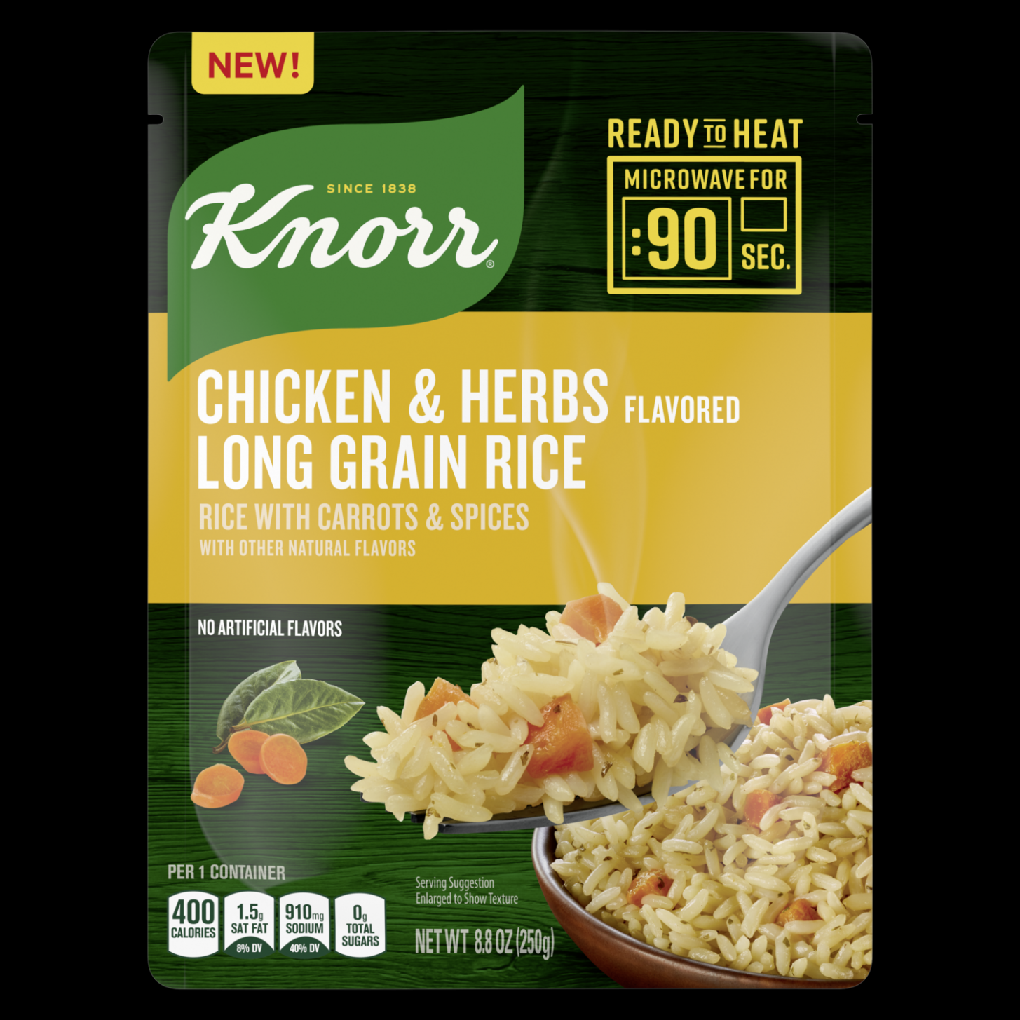 Ready to Heat Chicken & Herb Flavored Rice - Rice Recipes On Knorr Website