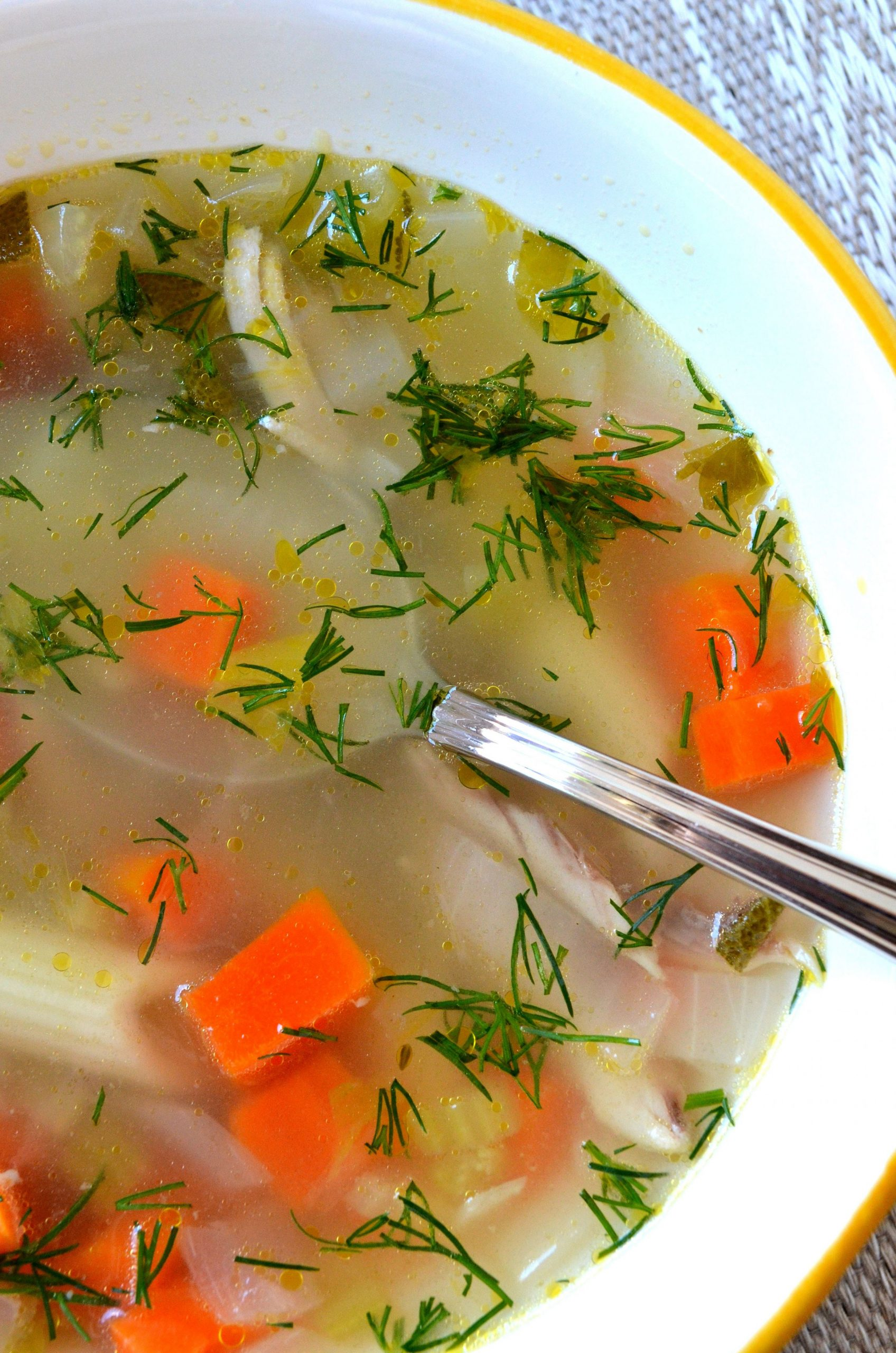 Recipe: Chicken Soup with Dill - Soup Recipes Russian
