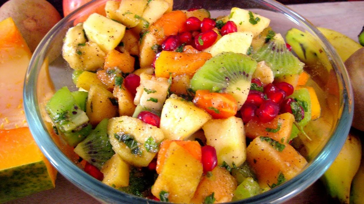 Recipe in Hindi - Mix Fruit Salad Recipe In Hindi - Salad Recipe in Hindi -  मिक्स फ्रूट सलाद रेसिपी - Salad Recipes In Hindi