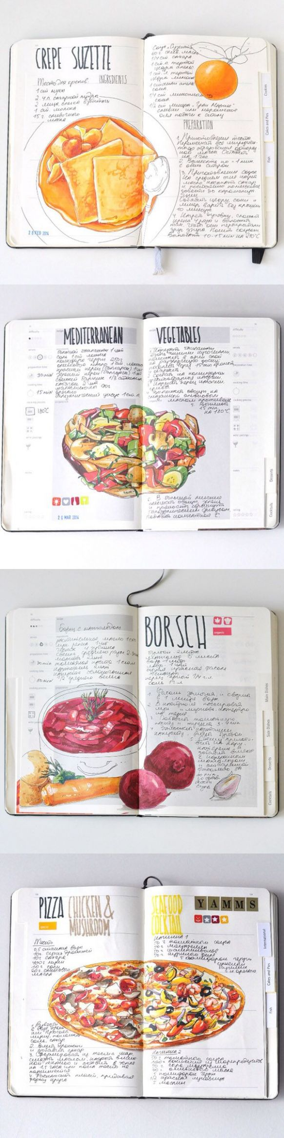 Recipe journal 11 by Sally Mao - my weekend and next week ..