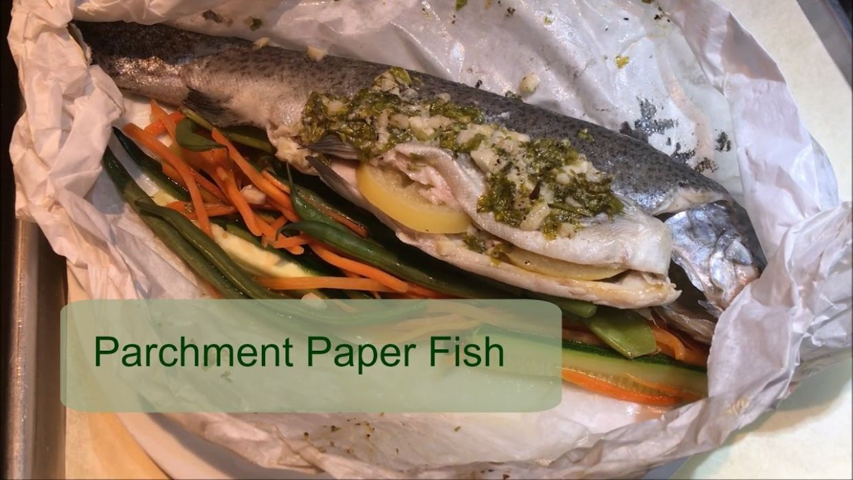 Recipe Share | Parchment Paper Fish