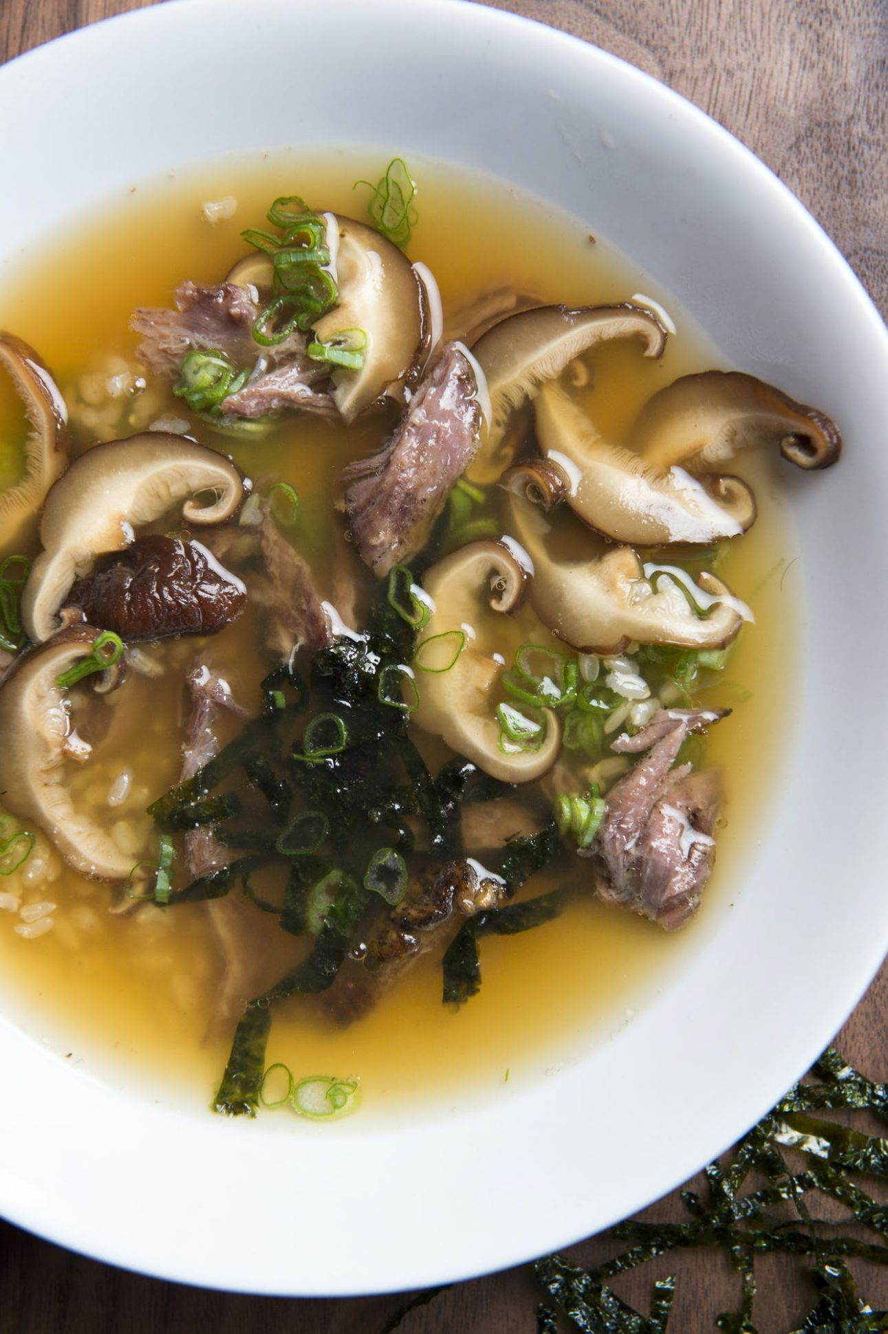 Recipes: Beef Bone Broth, Japanese Beef and Rice Soup | Star Tribune - Soup Recipes Using Beef Bone Broth