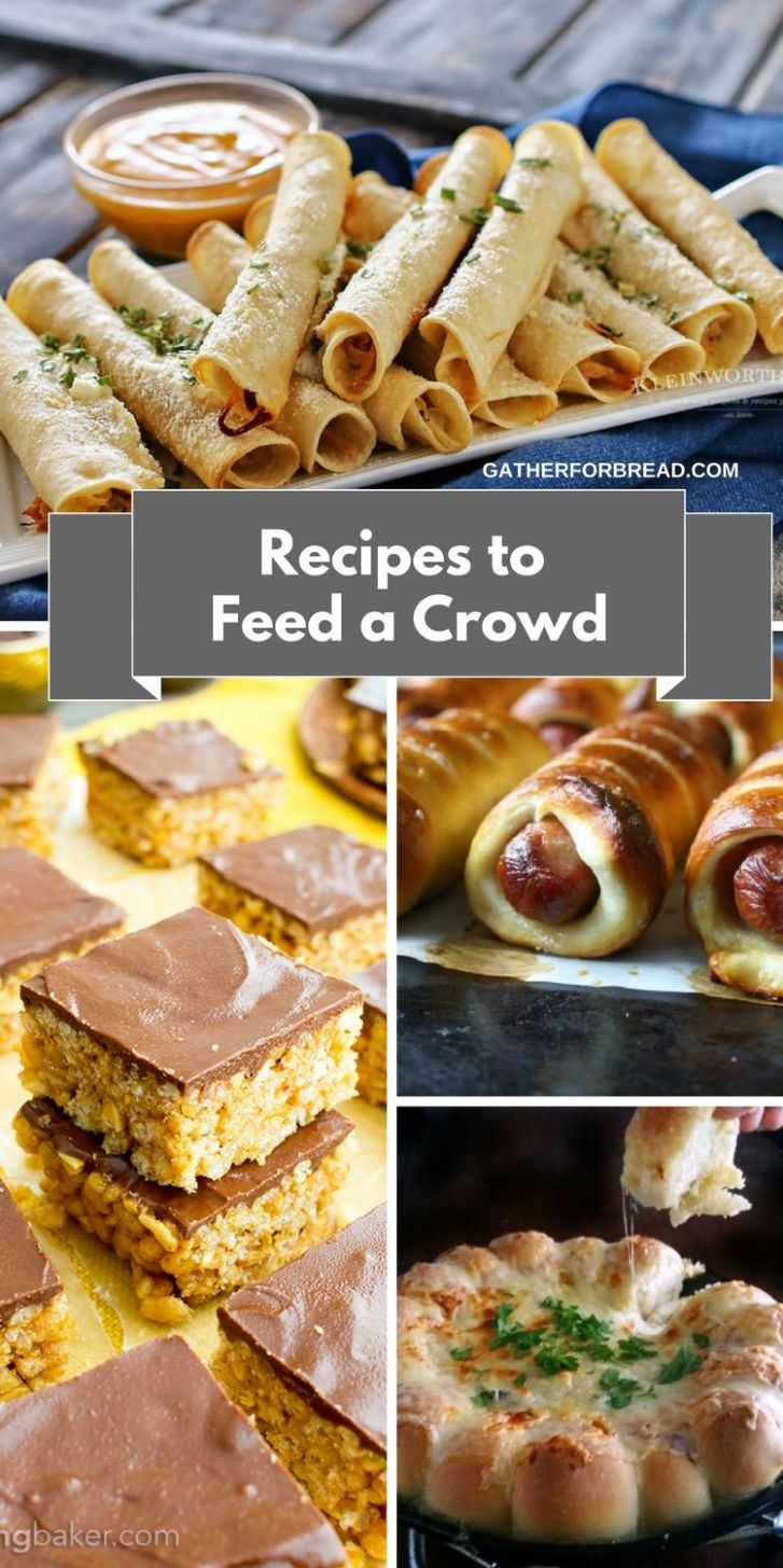 Recipes to Feed a Crowd Easy Entertaining - Recipes and ideas for ..