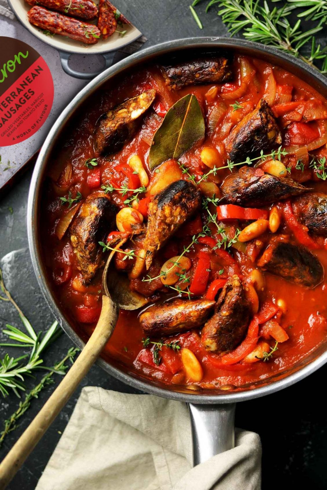 Recipes Using Vegetarian Sausages Rosie Birkett and Tom ...