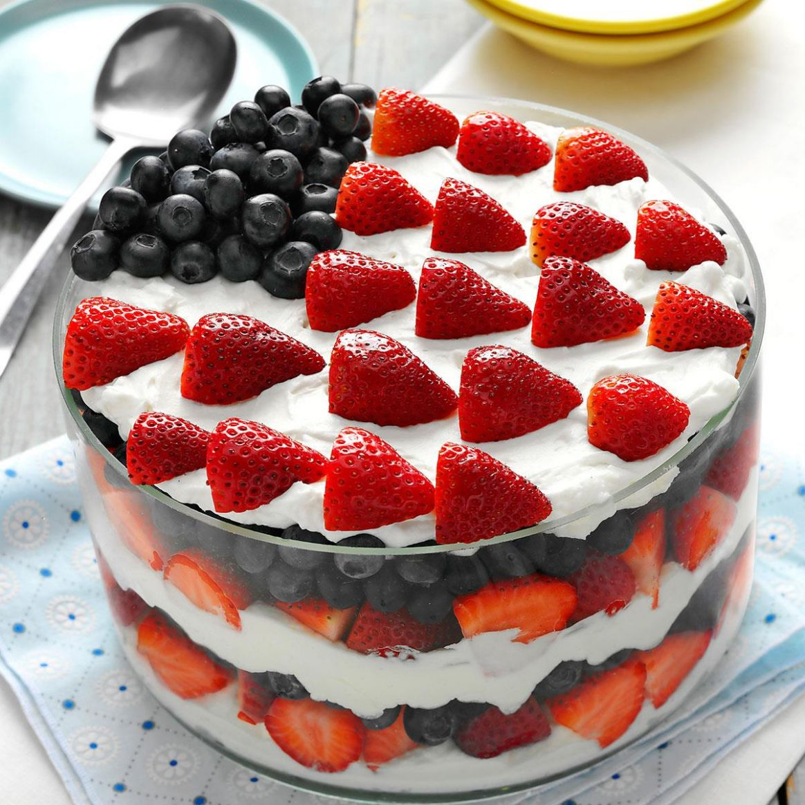 Red, White and Blue Dessert - Dessert Recipes Red White Blue