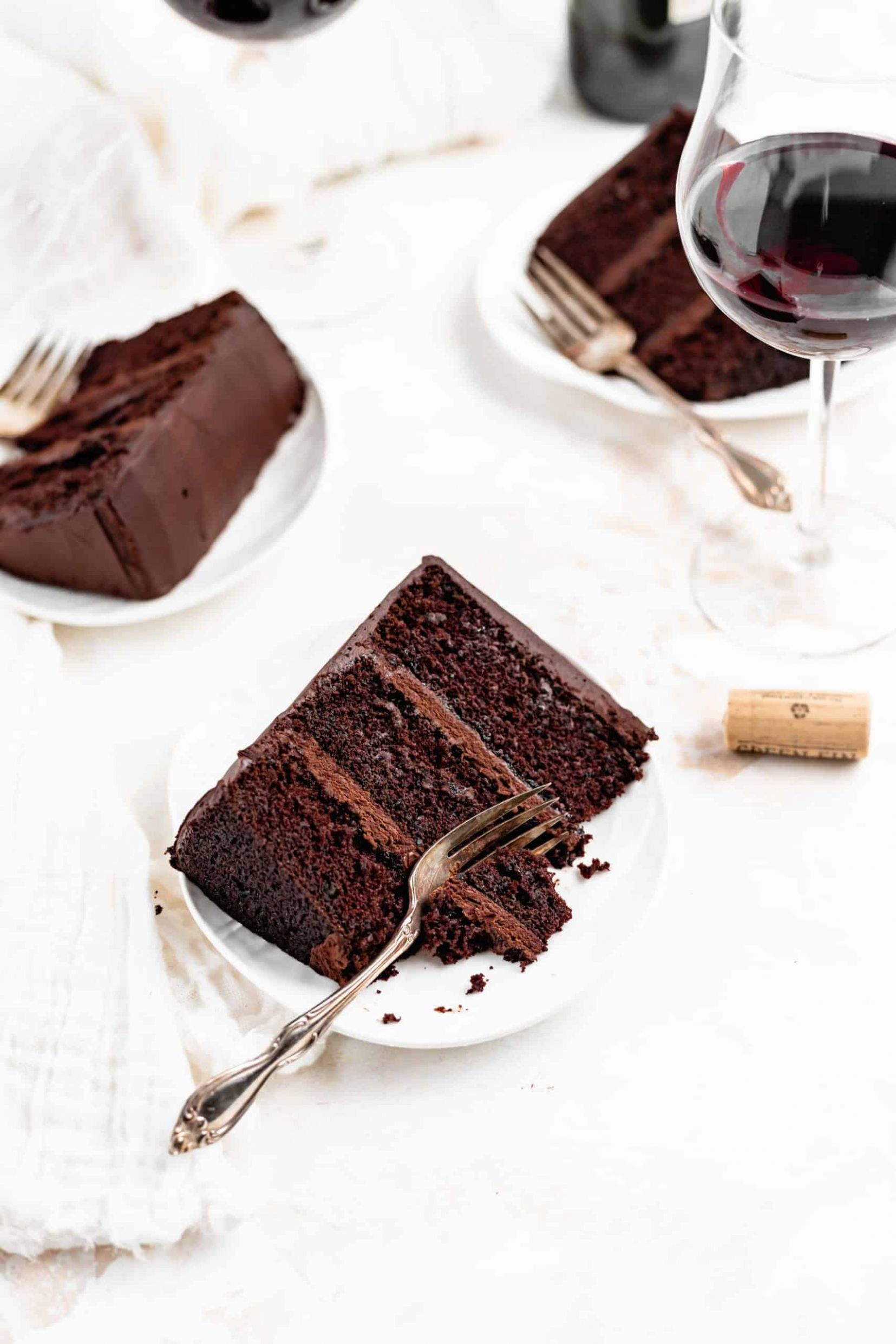 Red Wine Chocolate Cake - Baked Ambrosia