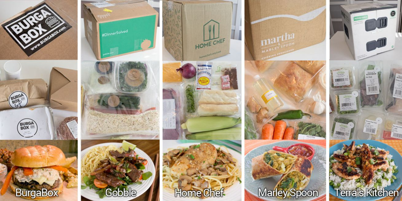 Review of new and unique meal delivery kit services | Chica and Jo