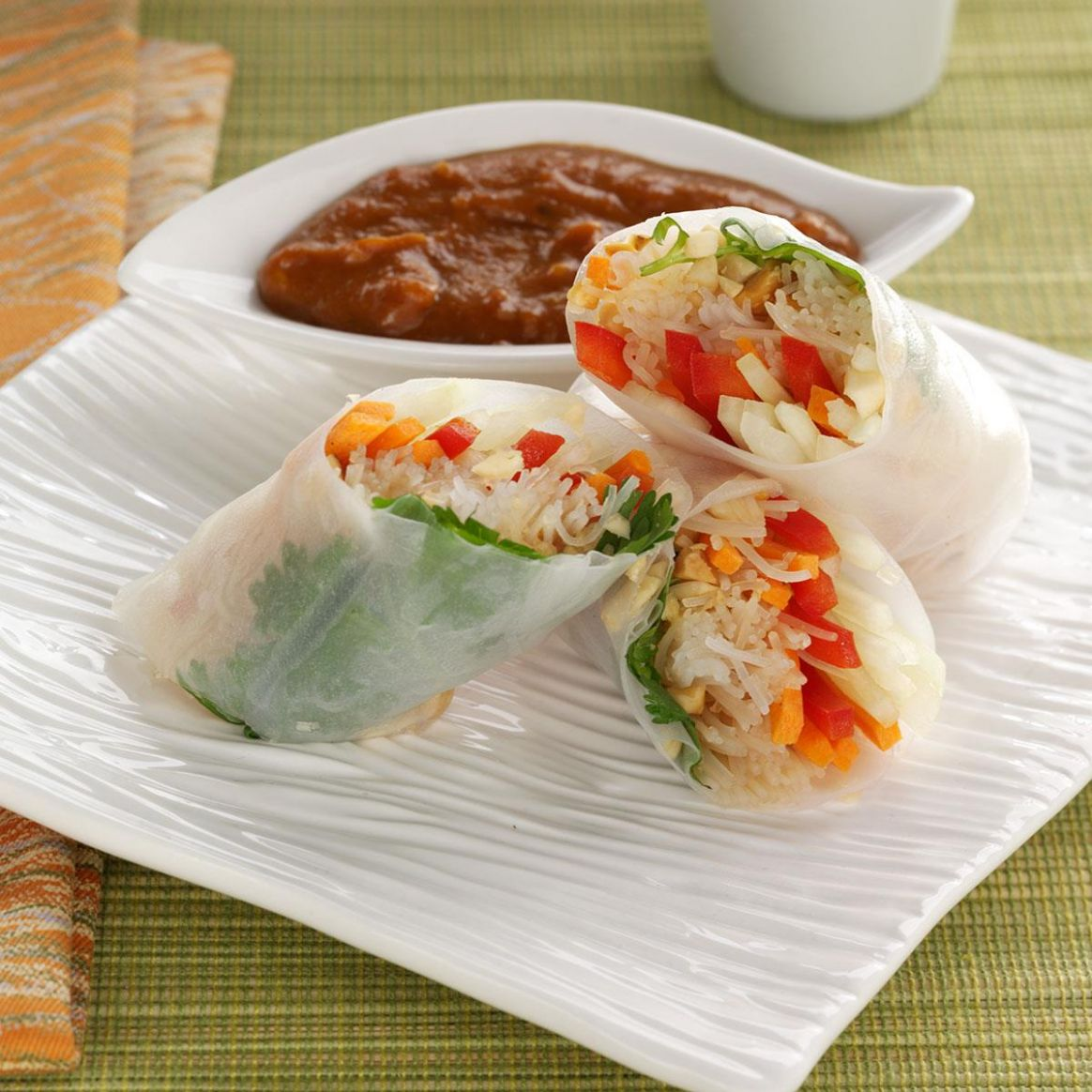 Rice Paper Rolls - Recipes Rice Paper Wraps