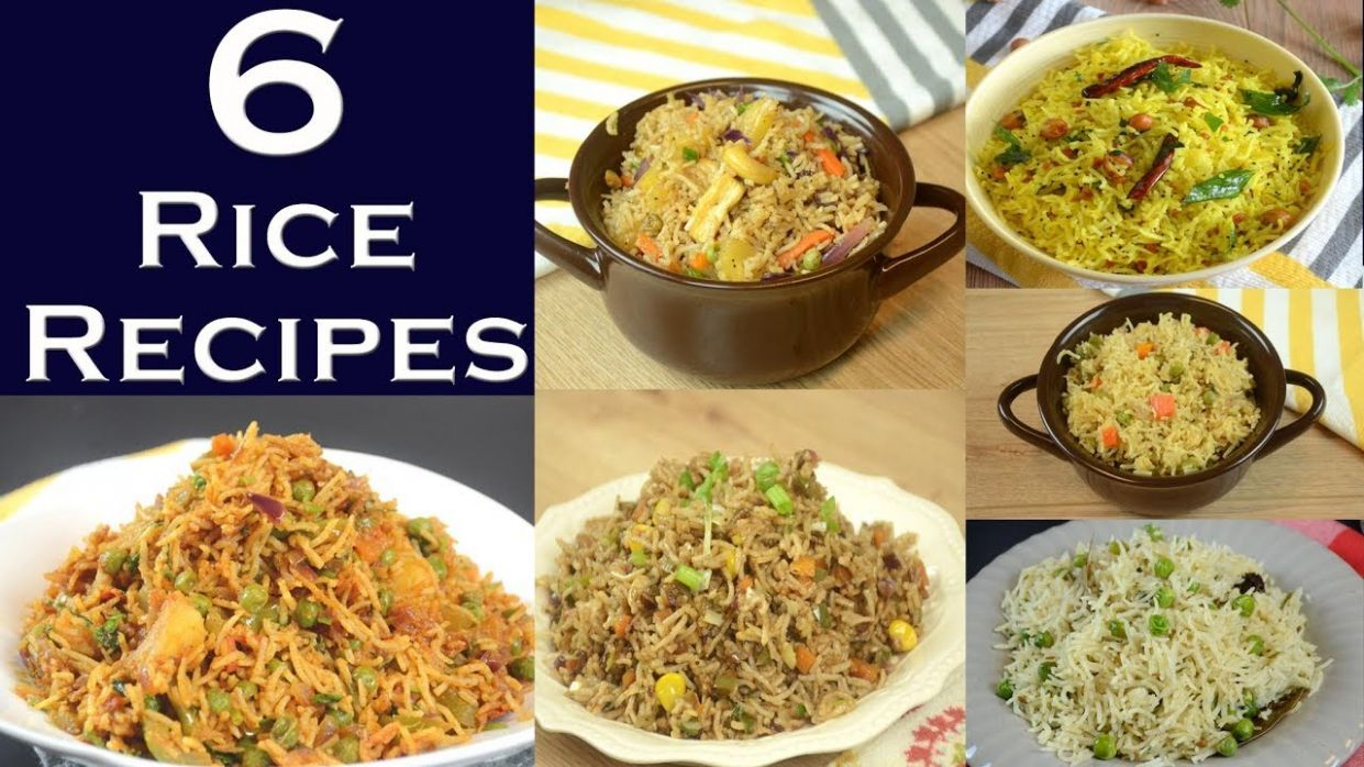 Rice Recipes | 8 Different Rice Recipes