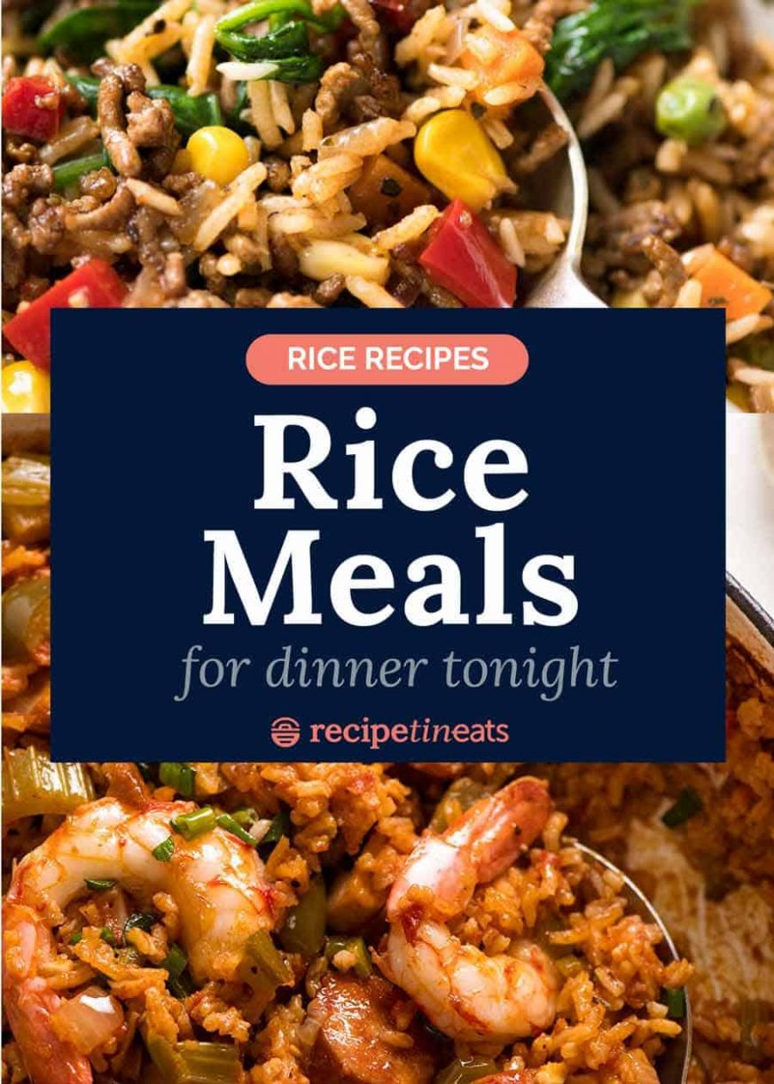 Rice recipes - rice meal recipes for dinner