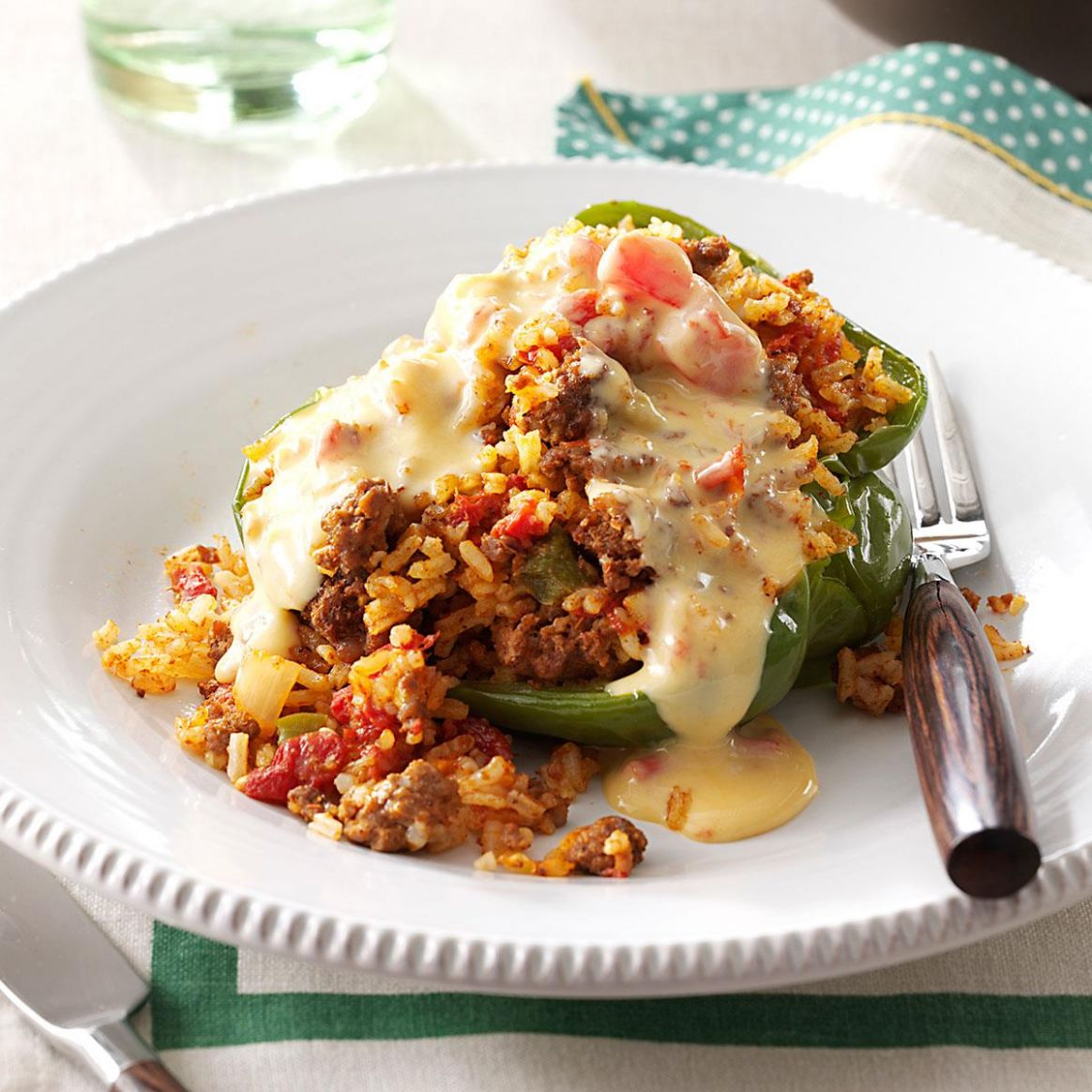 Rice-Stuffed Peppers - Recipes Rice Stuffed Peppers