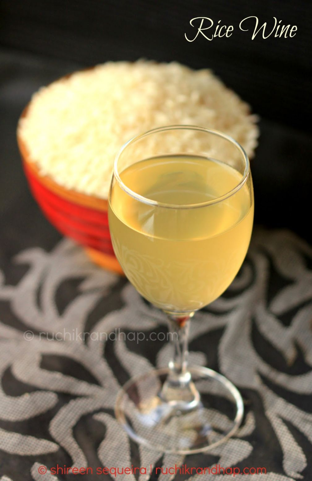 Rice Wine | Ruchik Randhap - Recipes Rice Wine
