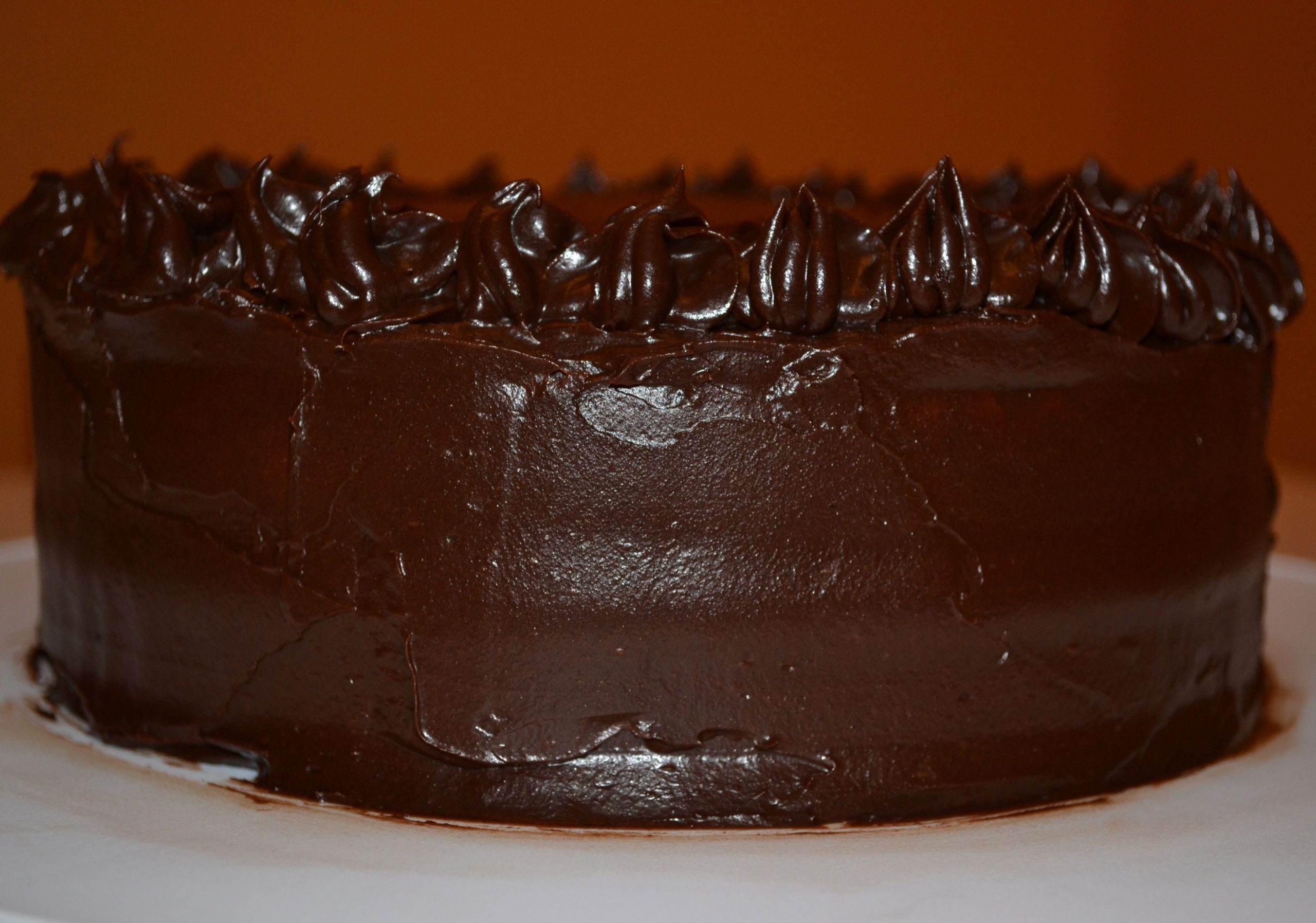 Rich Vanilla Cake with Fudge Frosting | Valerie Baking With Anna Olson