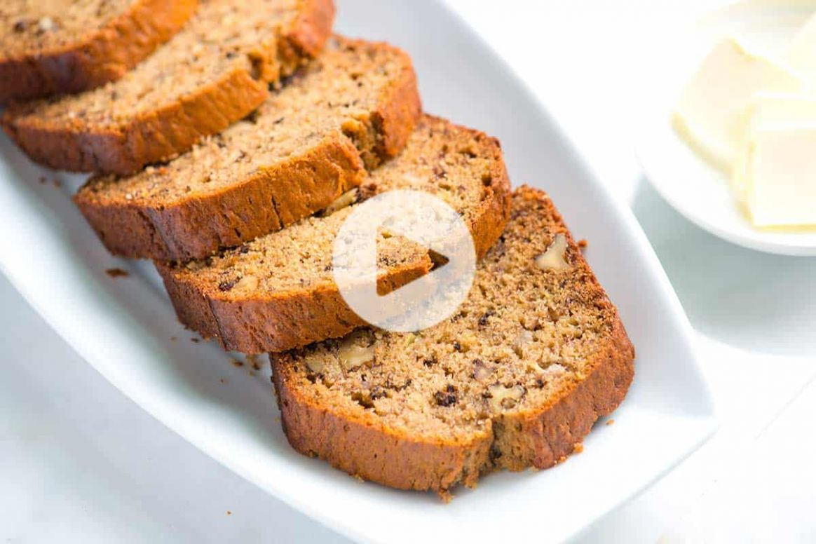 Ridiculously Easy Homemade Banana Bread - Simple Recipes Banana Bread
