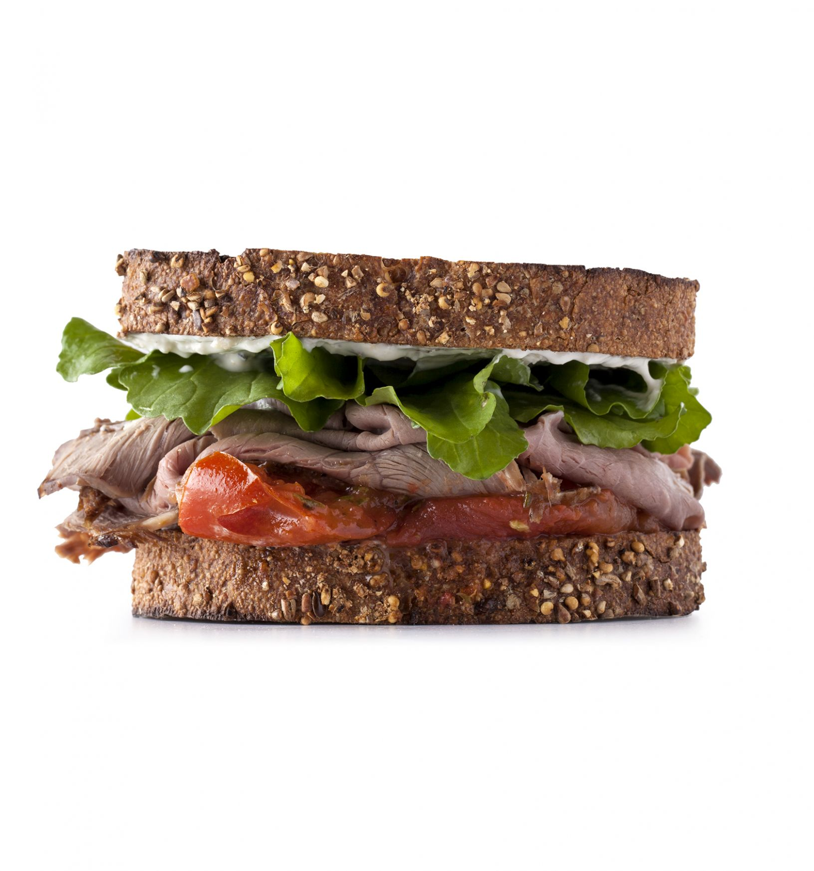 Roast Beef With Roasted Tomatoes Sandwich - Sandwich Recipes Roast Beef