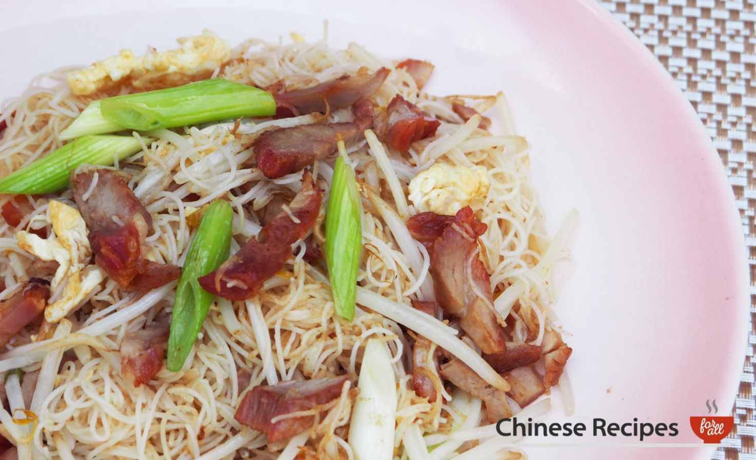 Roast Pork Vermicelli Noodles - Recipe Pork Vermicelli