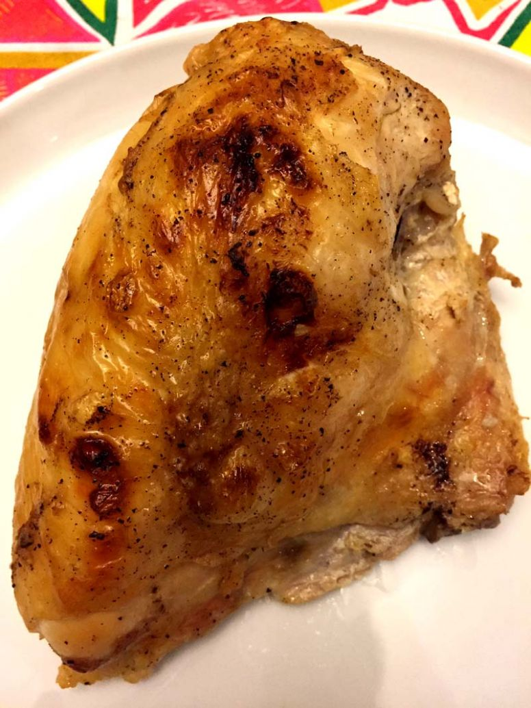 Roasted Bone-In Skin-On Chicken Breasts