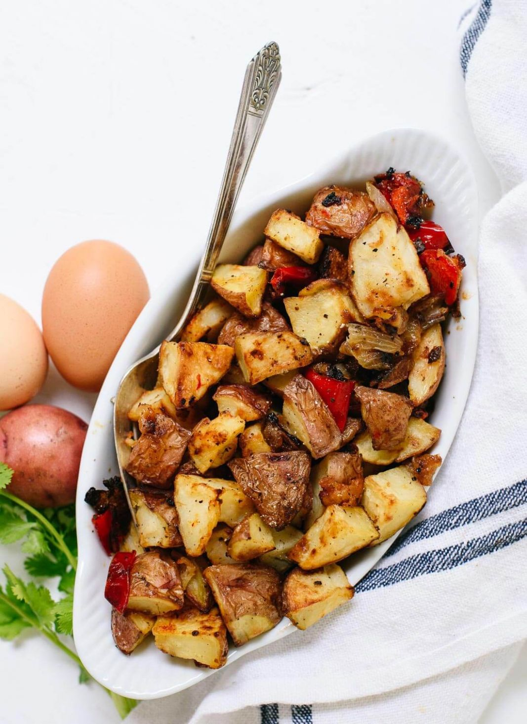 Roasted Breakfast Potatoes (Home Fries) - Cookie and Kate