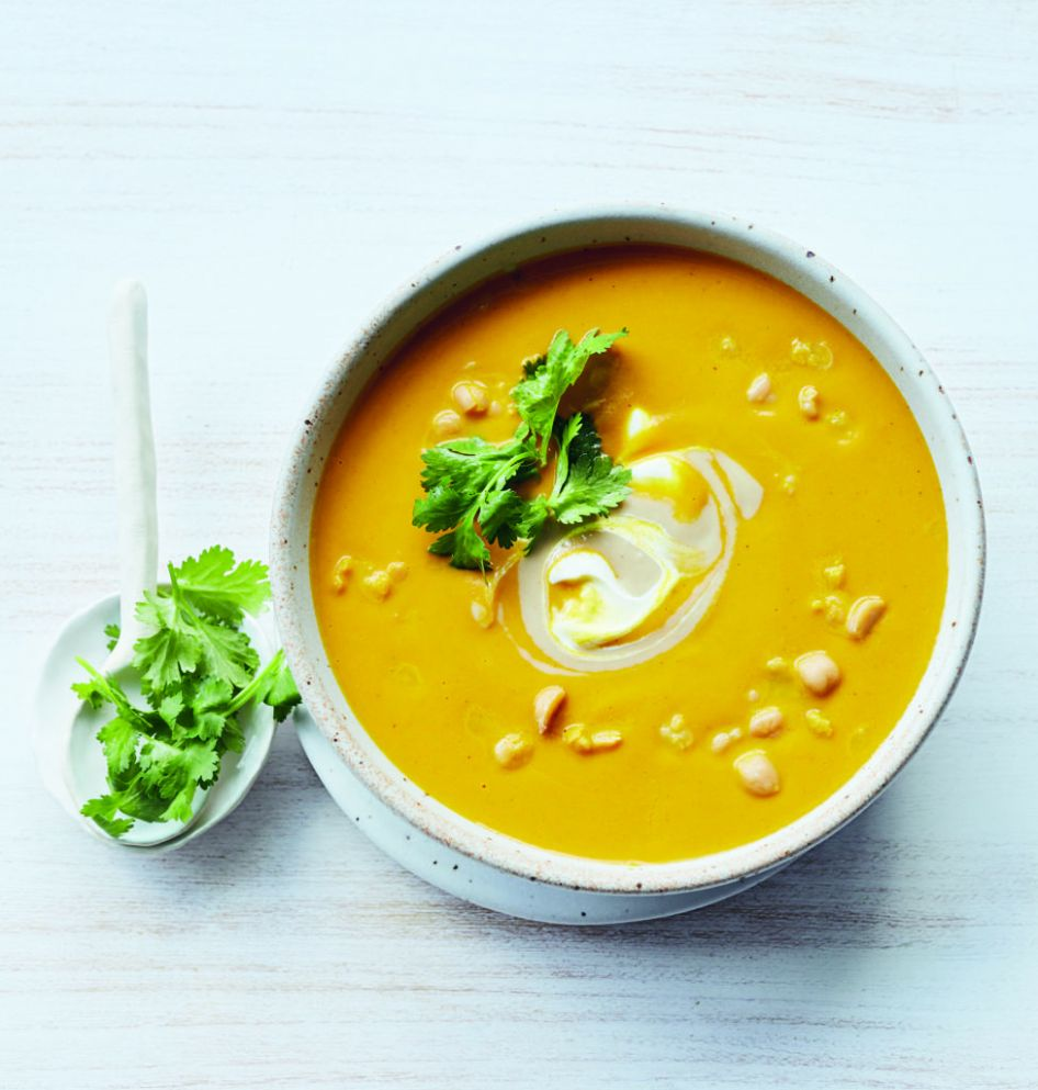 Roasted Carrot & Turmeric Soup | Recipes | Hip And Healthy