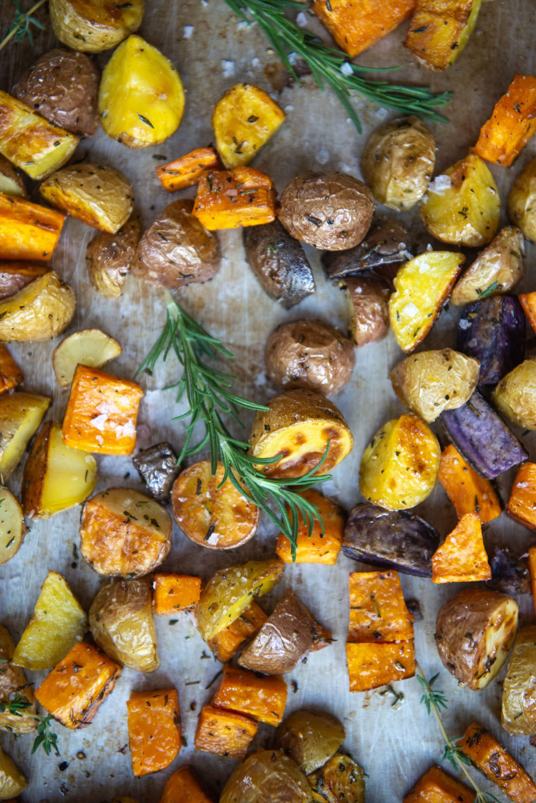 Roasted Mixed Potatoes