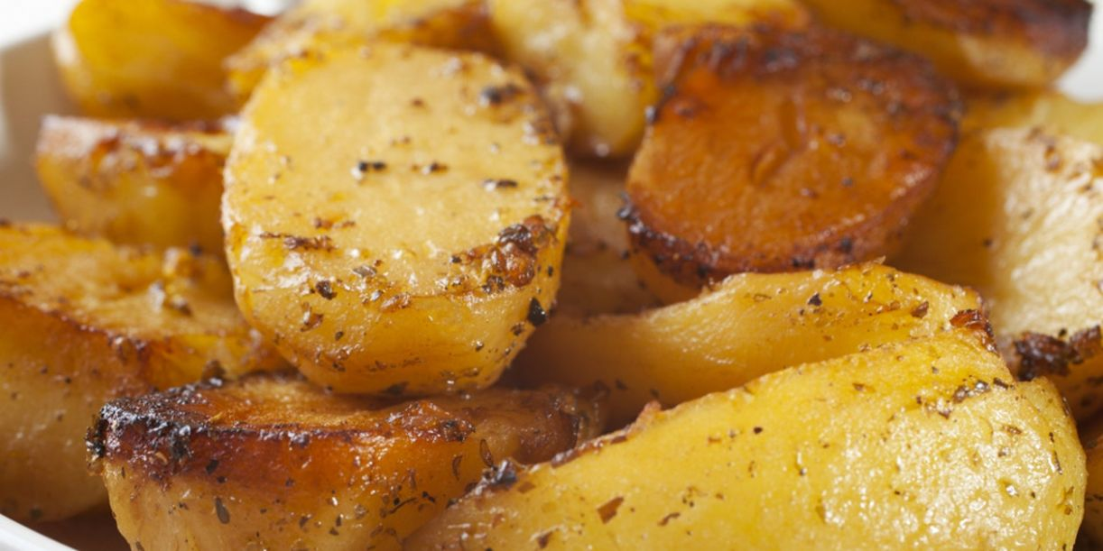 Roasted Potatoes with Garlic, Lemon, and Oregano - Potato Recipes Epicurious