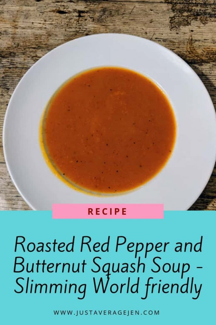 Roasted Red Pepper and Butternut Squash Soup – Slimming World Syn ...