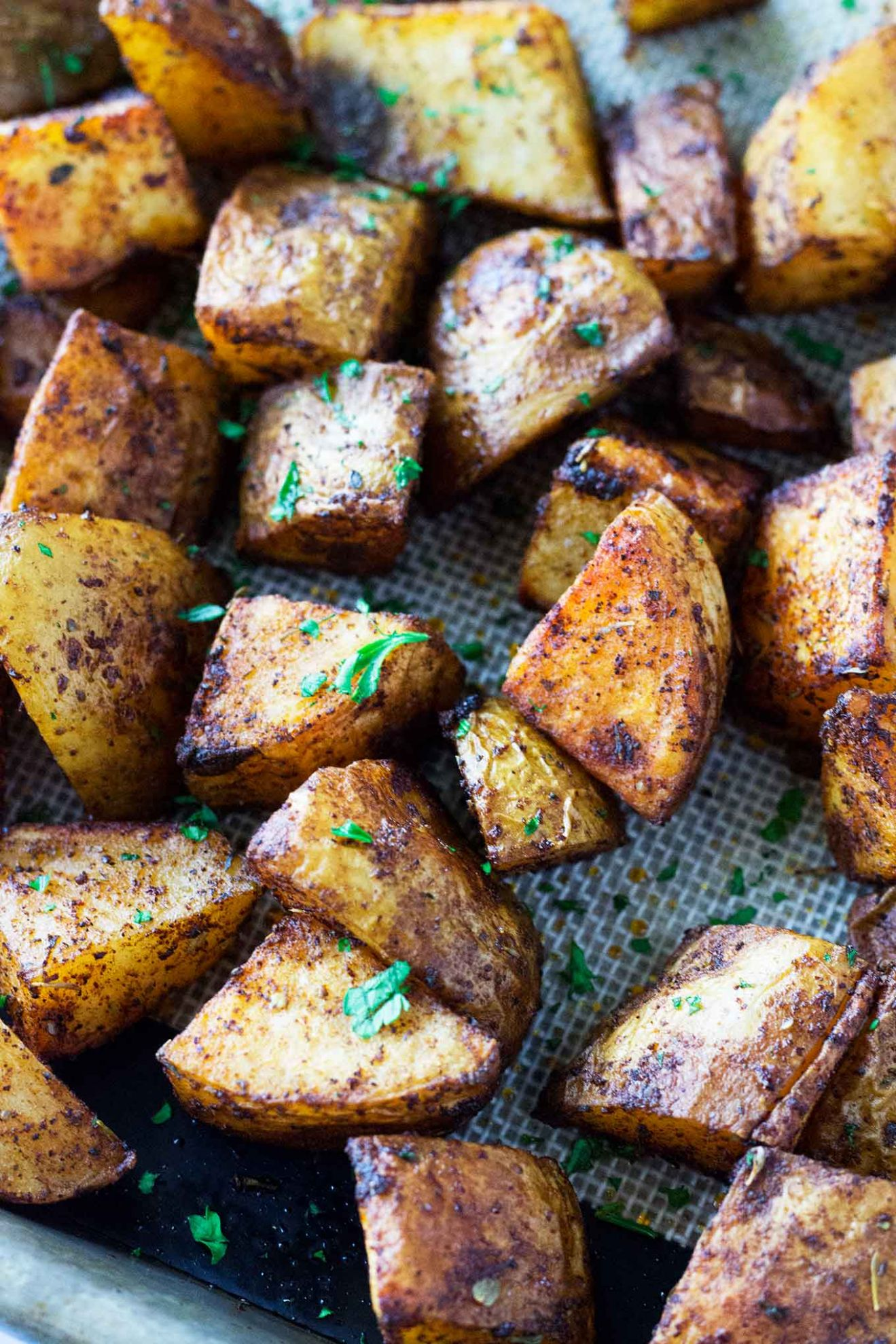 Roasted Russet Potatoes