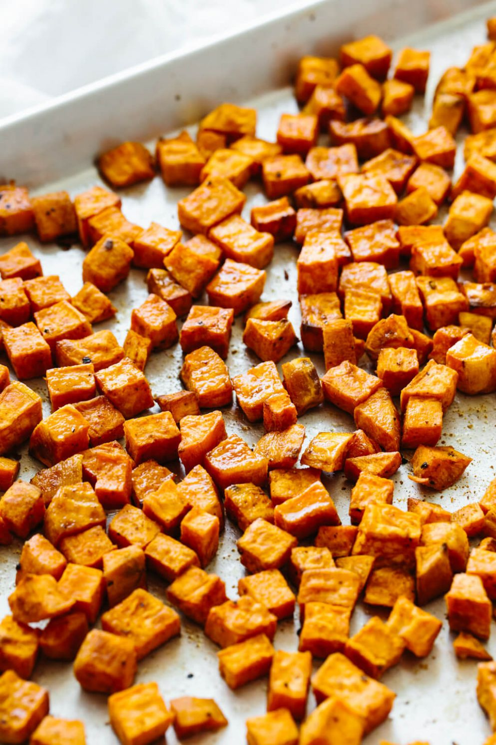 Roasted Sweet Potatoes (Perfectly Seasoned!) | Downshiftology