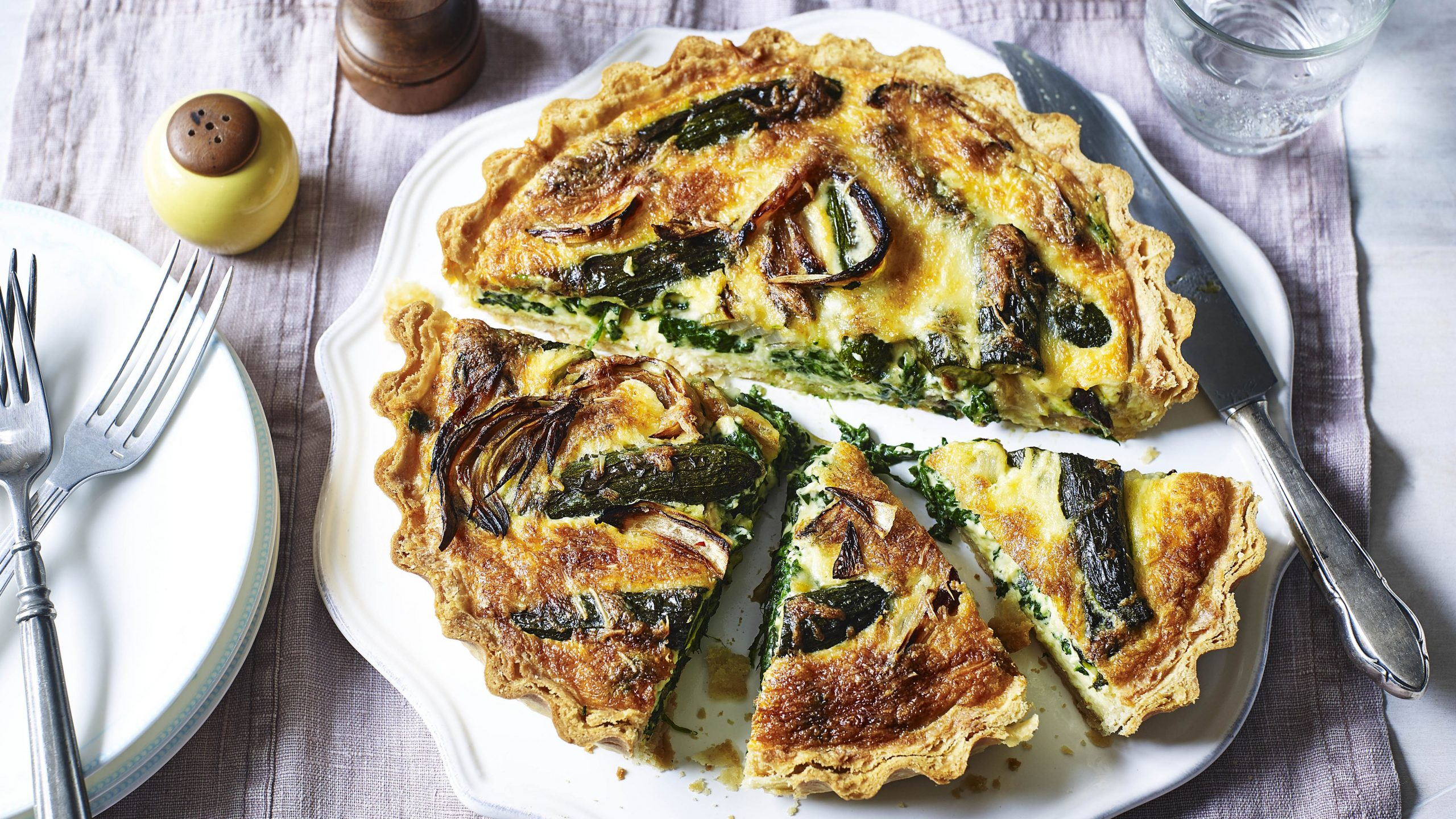 Roasted vegetable quiche - Food Recipes Quiche