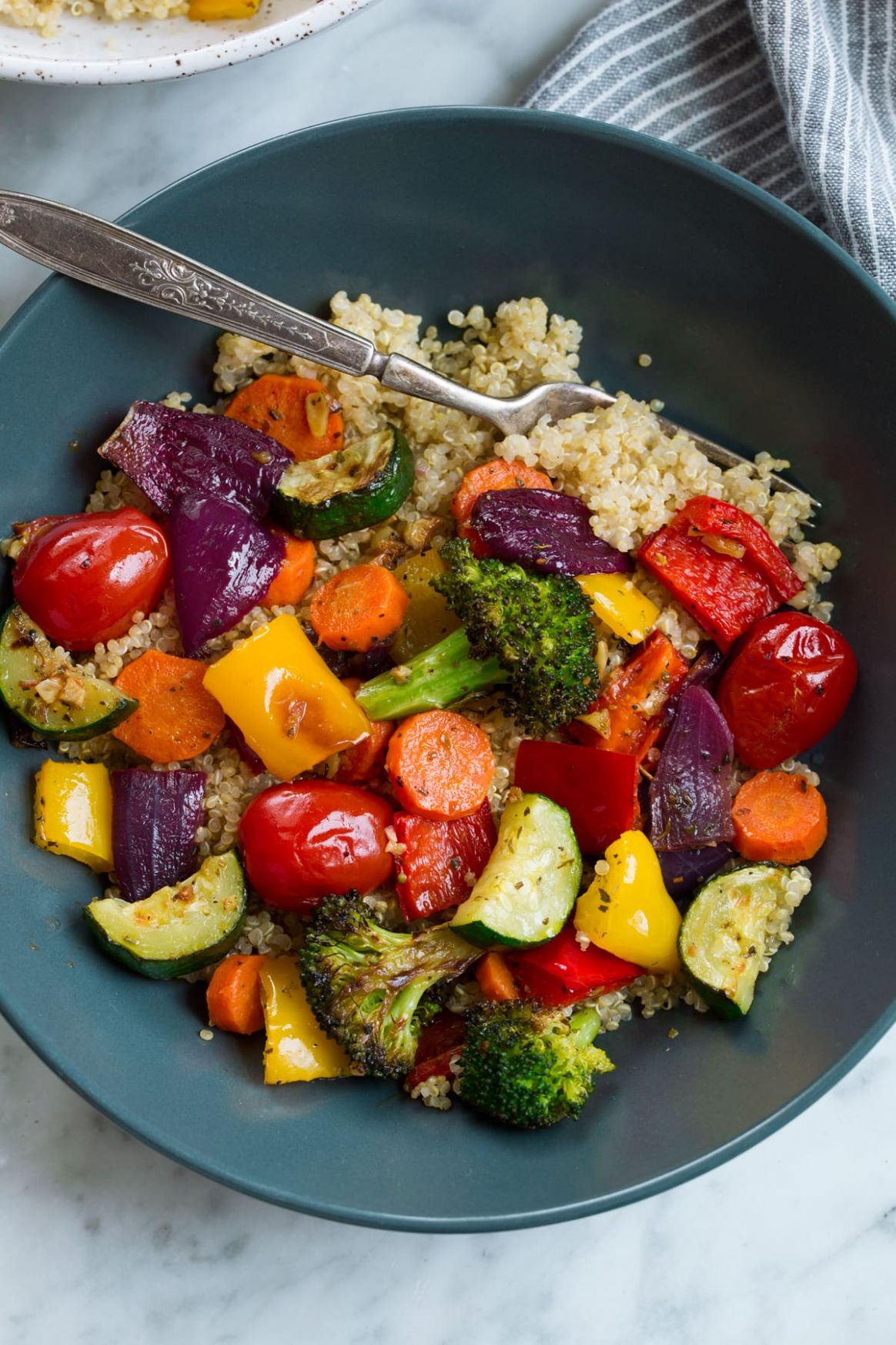 Roasted Vegetables - Vegetable Recipes Main Dish