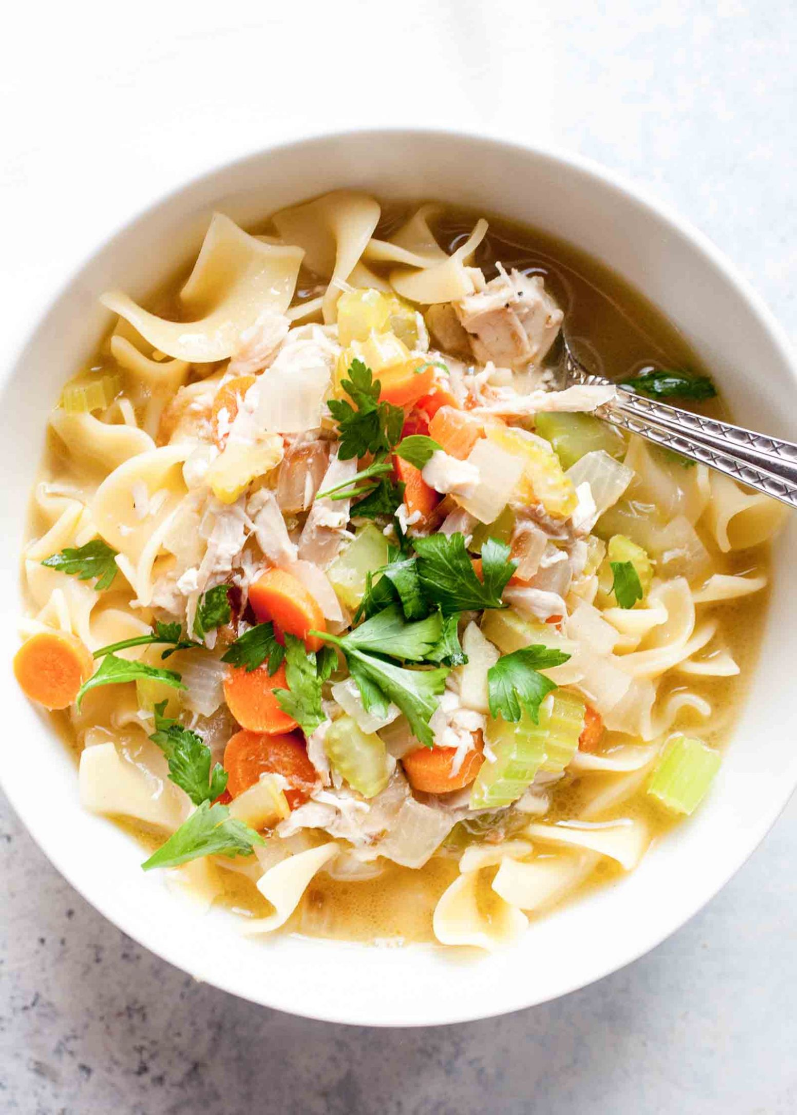 Rotisserie Chicken Noodle Soup - Soup Recipes Rotisserie Chicken