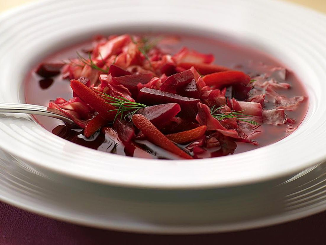 Russian Beetroot Soup (Borshch)