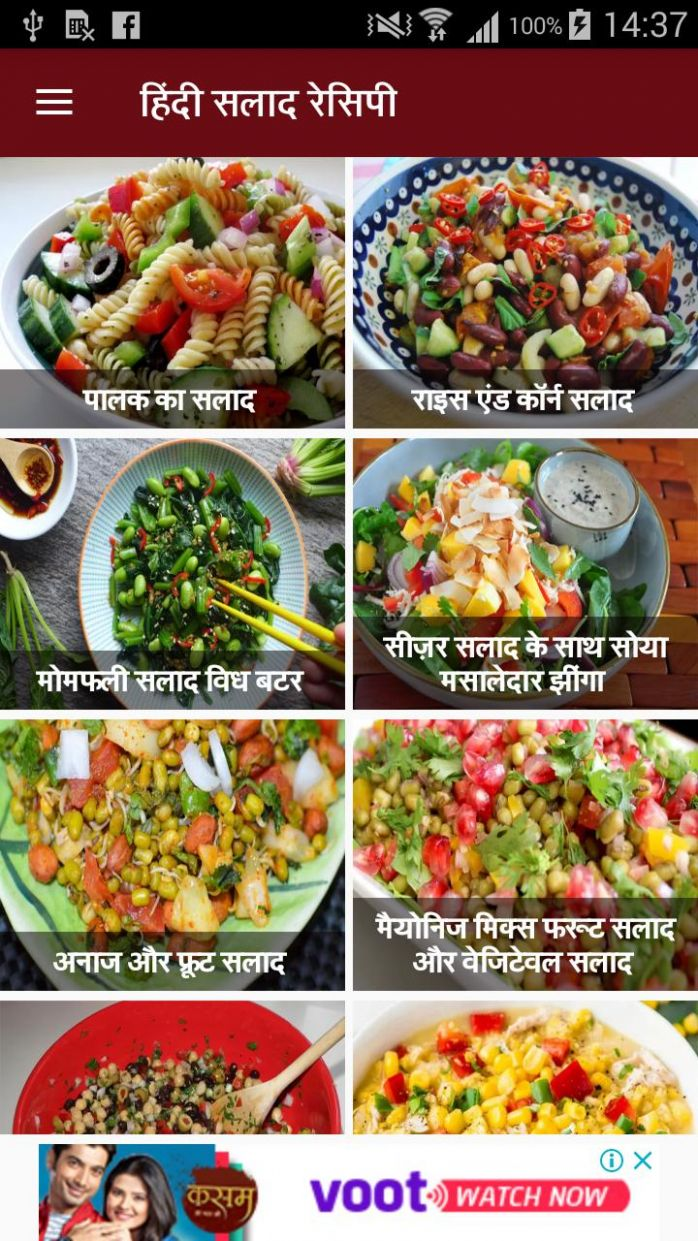Salad Recipe in Hindi | सलाद रेसिपी for Android - APK ..