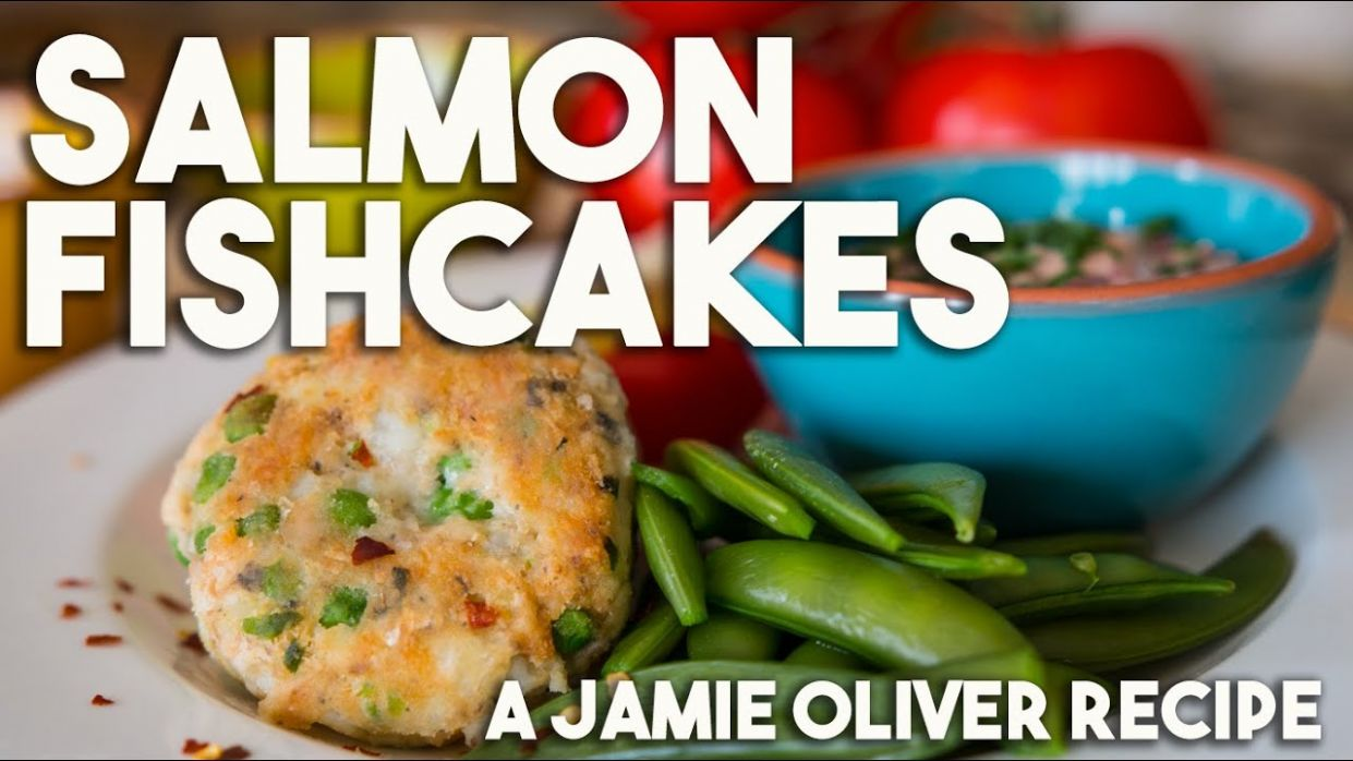 Salmon Fishcakes - For Jamie Oliver's Food Revolution