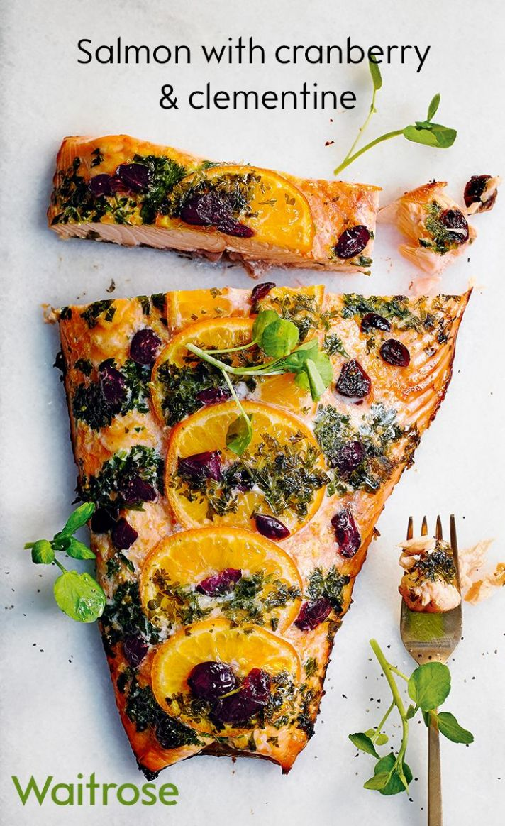 Salmon Side with Cranberry & Clementine | Fish recipes for ..