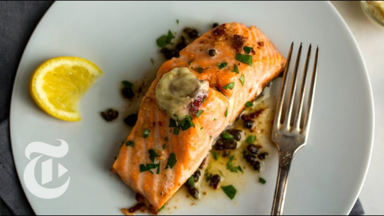 Salmon With Anchovy Butter | Melissa Clark Recipes |  New York Times - Fish Recipes Nytimes