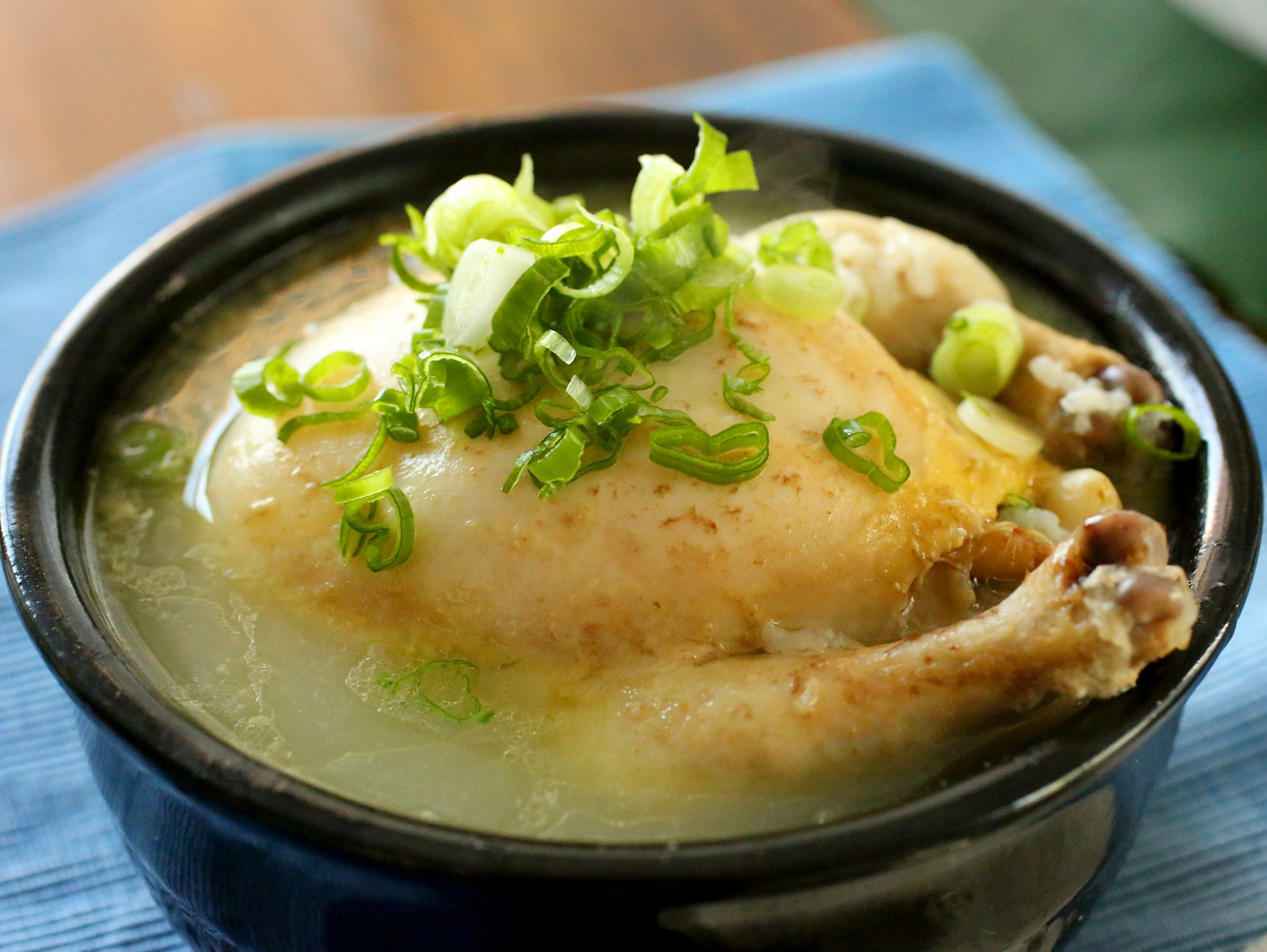 Samgyetang - Soup Recipes Korean