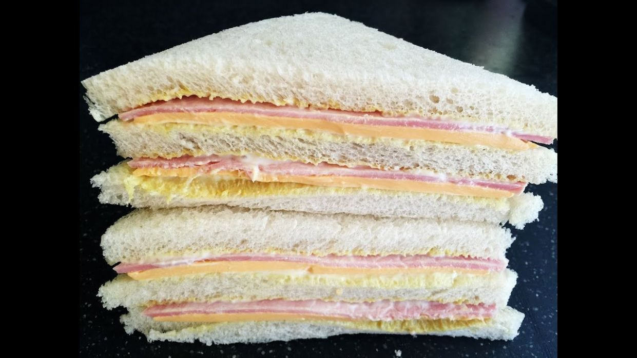 Sandwich Recipes : Ham & Cheese Sandwich Recipe - Sandwich Recipes Ham And Cheese