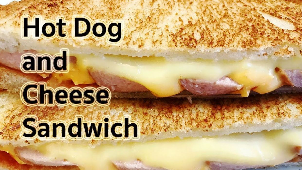 Sandwich Recipes : Hot Dog and Cheese Sandwich Recipe : แซนวิช ..